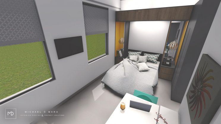 visualization, 3d renders, interior design dublin, dublin visuals, Pre investment or purchase feasibility desig
