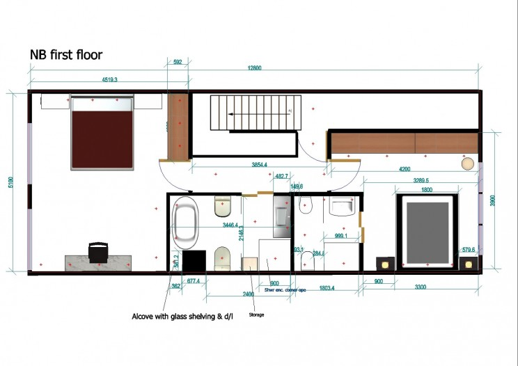 Floor plans dun laoghaire, Dublin interior design