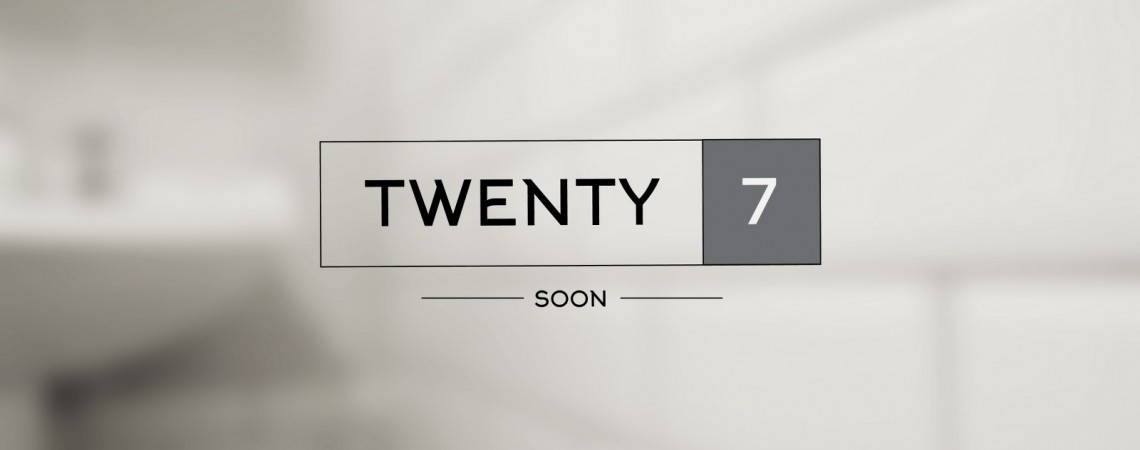 Twenty 7 Logo design