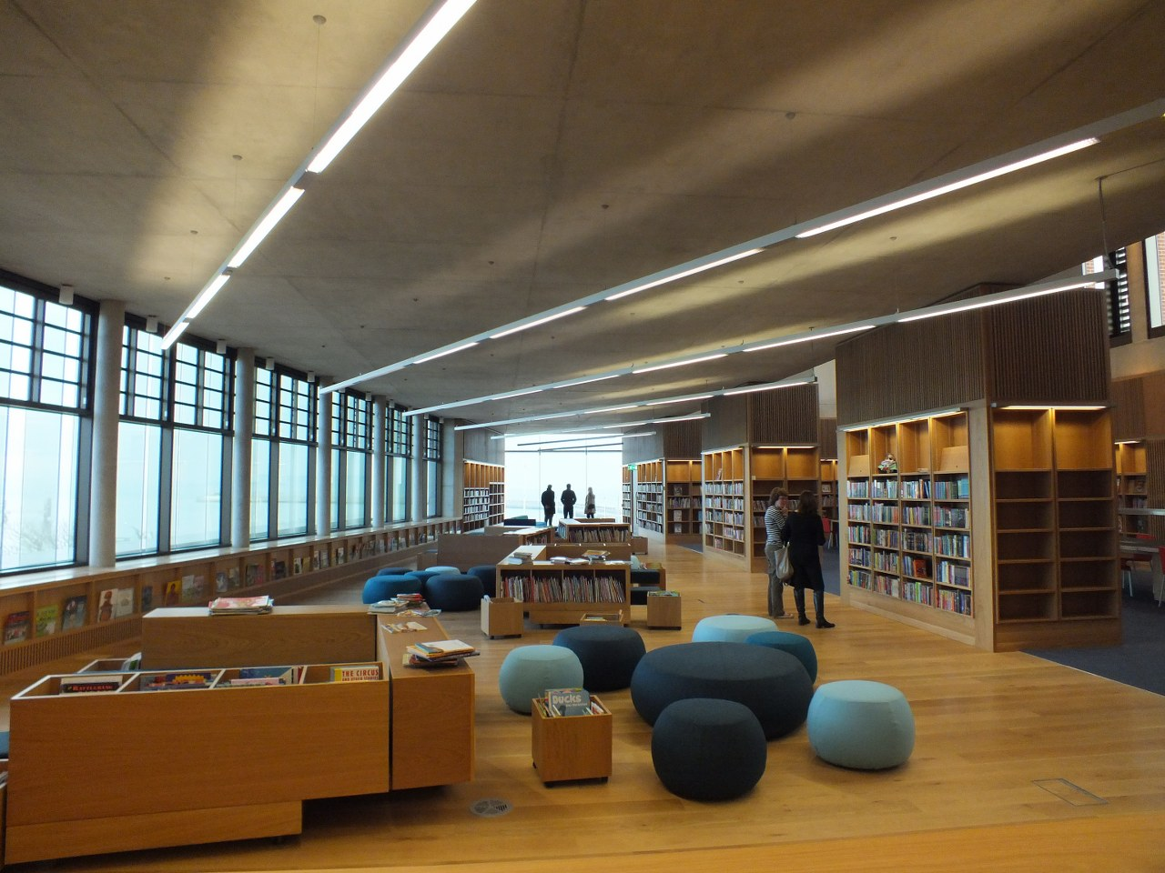 The naval wedge of d n laoghaire inside the lexicon for Modern library building design