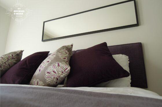 Dublin Interior Designers MiD present: Serene city retreat in plum, lavender & grey