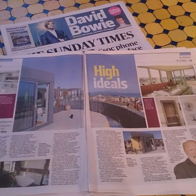 Michael O'mara interior design appear in the sunday times newspaper