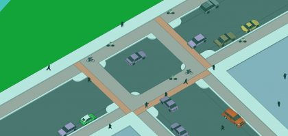 safe cycling, secure cycling solutions, urban cycling ideas