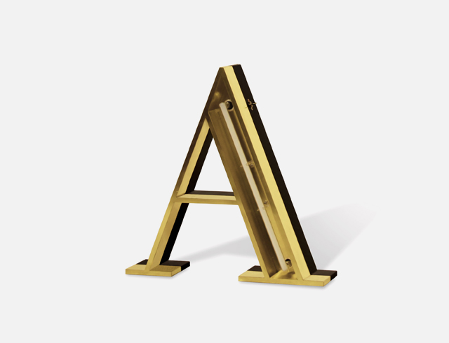 letter lights, neon lights, letter light features, illuminated letters