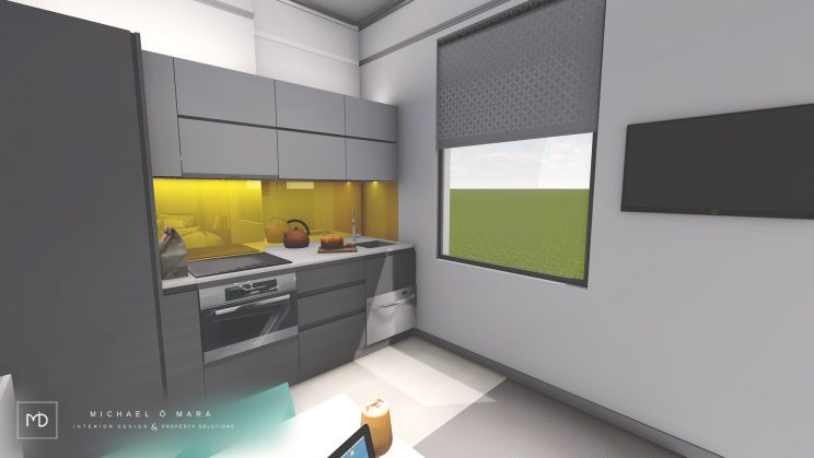 visualization, 3d renders, interior design dublin, dublin visuals, Pre investment or purchase feasibility desig