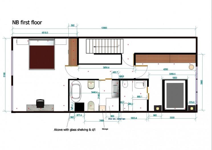 Floor plans dun laoghaire, Dublin interior design