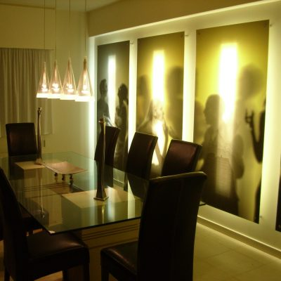 DINING TABLE & ATMOS PANELS