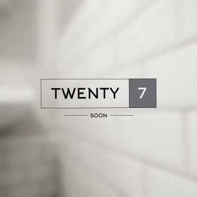 Twenty 7 Logo design