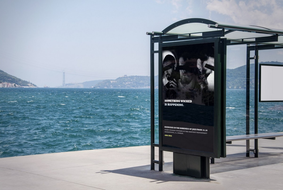 Outdoor posters dun laoghaire, Dublin interior design