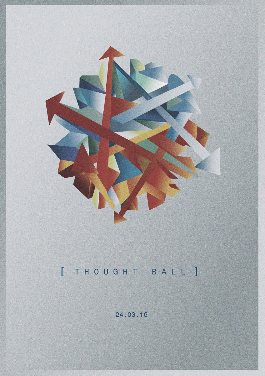 Thoughtball band Illustration graphic design Dublin