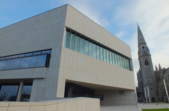 DUN LAOGHAIRE LIBRARY – INSIDE THE NAVAL WEDGE