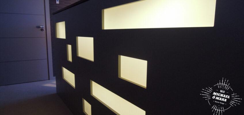 MiD: Bespoke bedroom with unique illuminating headboard