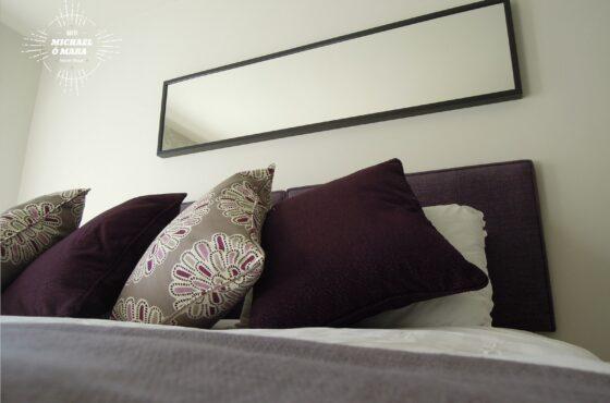 Dublin Interior Designers MiD present: Serene city retreat in plum, lavender & grey