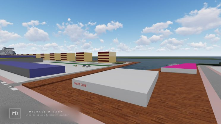 Pigeon house, poolbeg chimenys, dublin poolbeg, poolbeg lighthouse