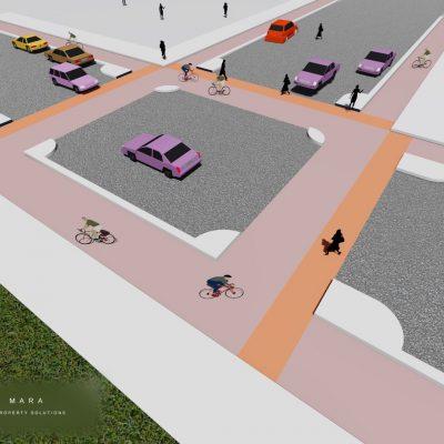 SAfe travel for cyclists & pedestrians