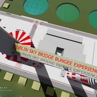 Dublin sky bridge