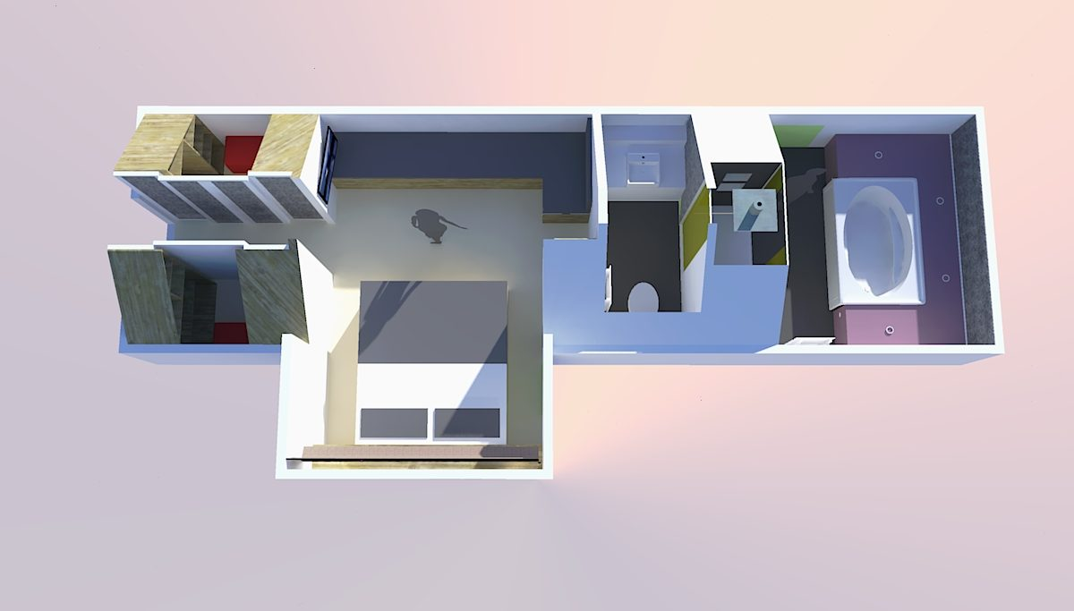 small space design solutions, interior design small apartments, Dublin interior deswigners, interior design attics, attic solutions, attic designs