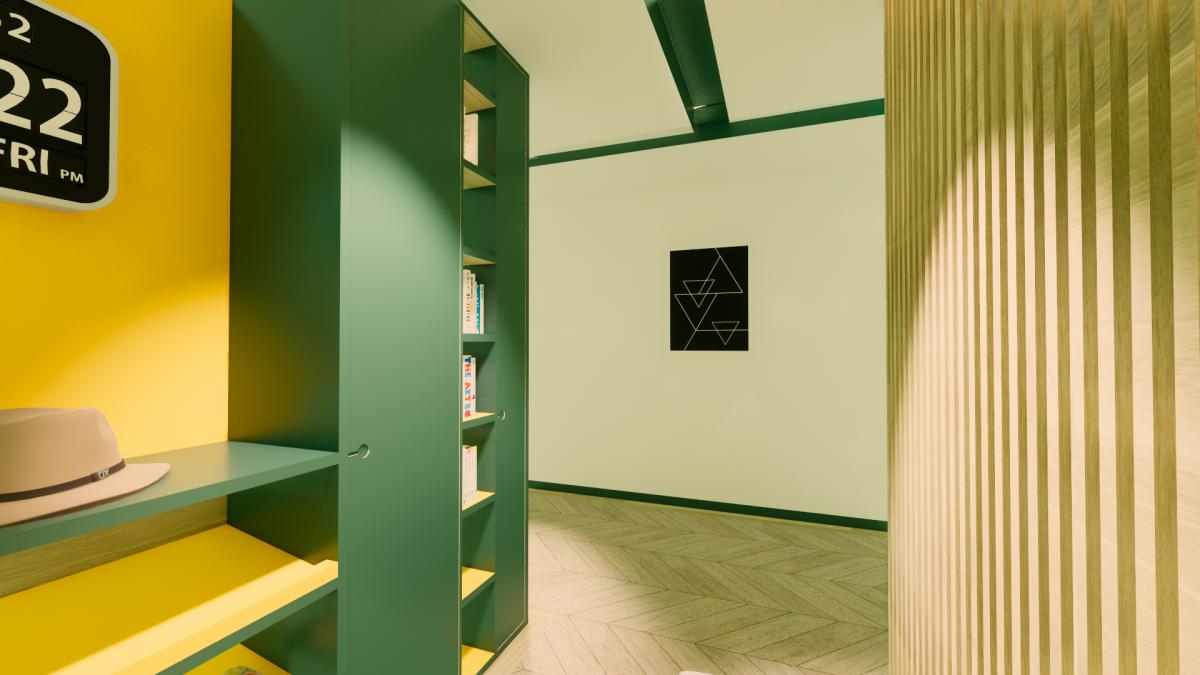 Hallway interiors