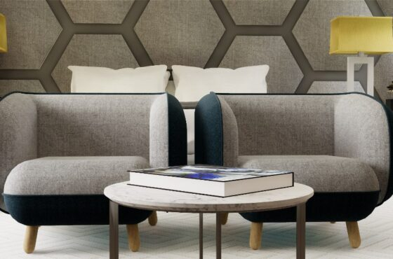 THE HEXAGON MASTER BEDROOM