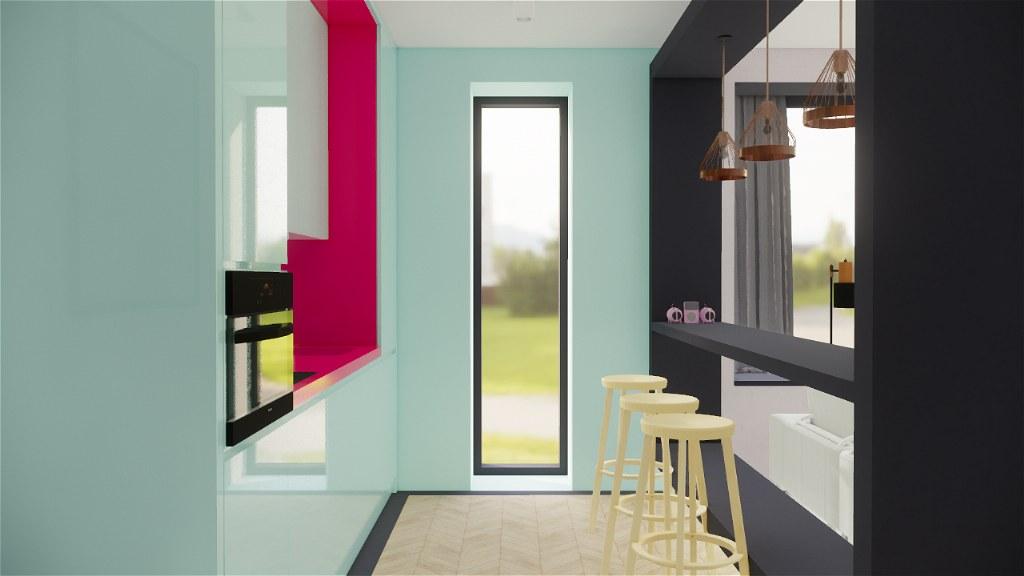 Colourful interiors