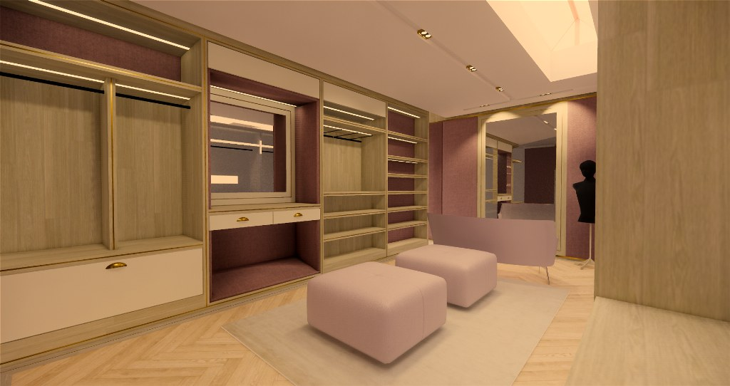 Luxury Walk in wardrobe designs