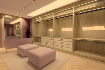 walk in wardrobe design