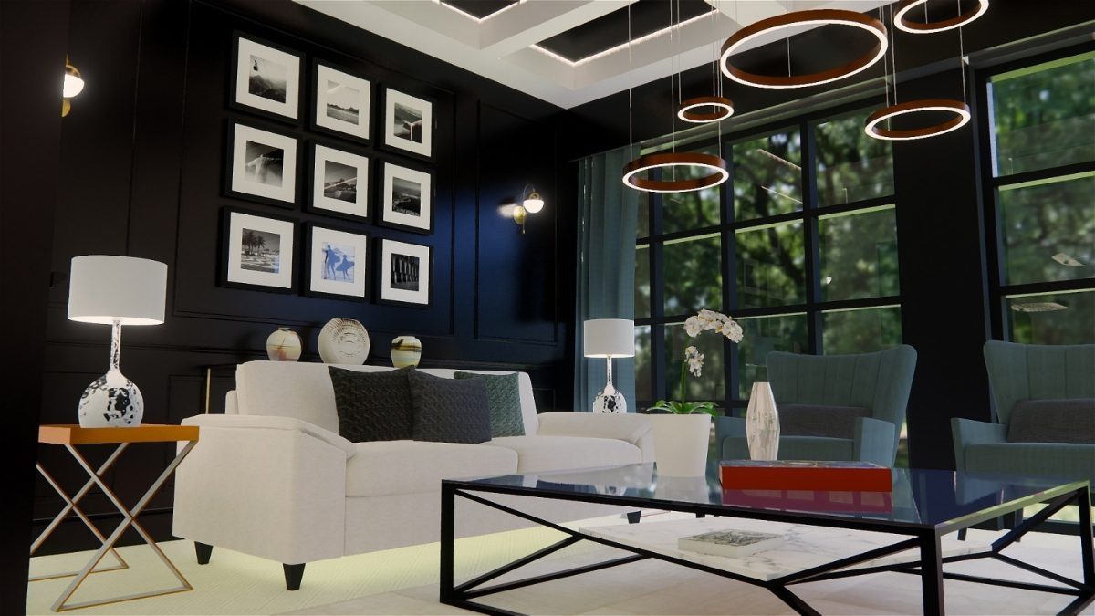 Black interior trends 2019