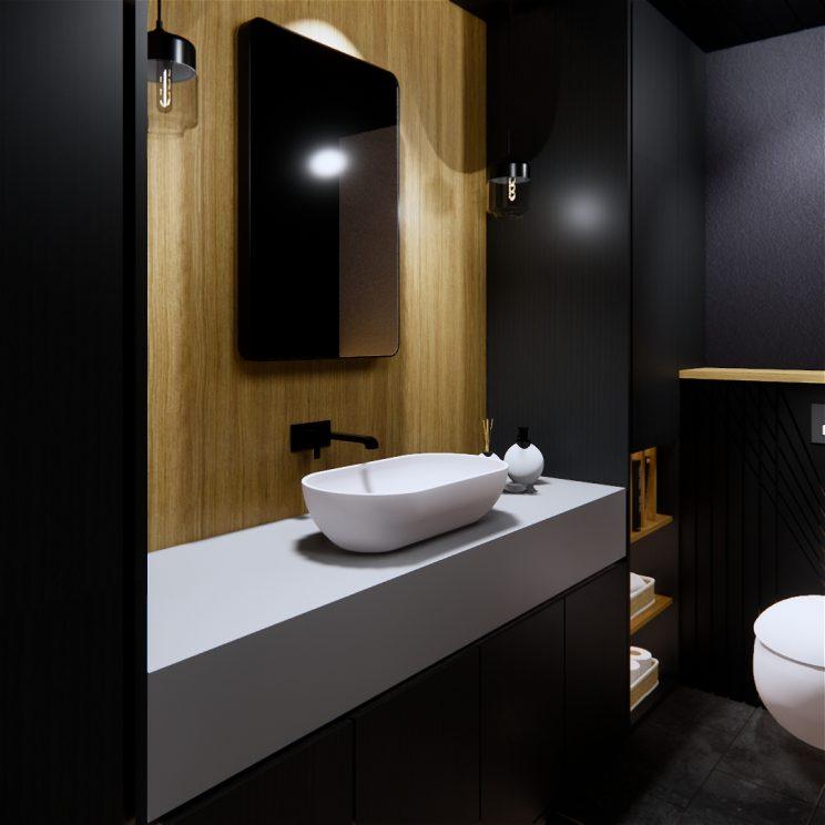 Dark bathroom designs 2019