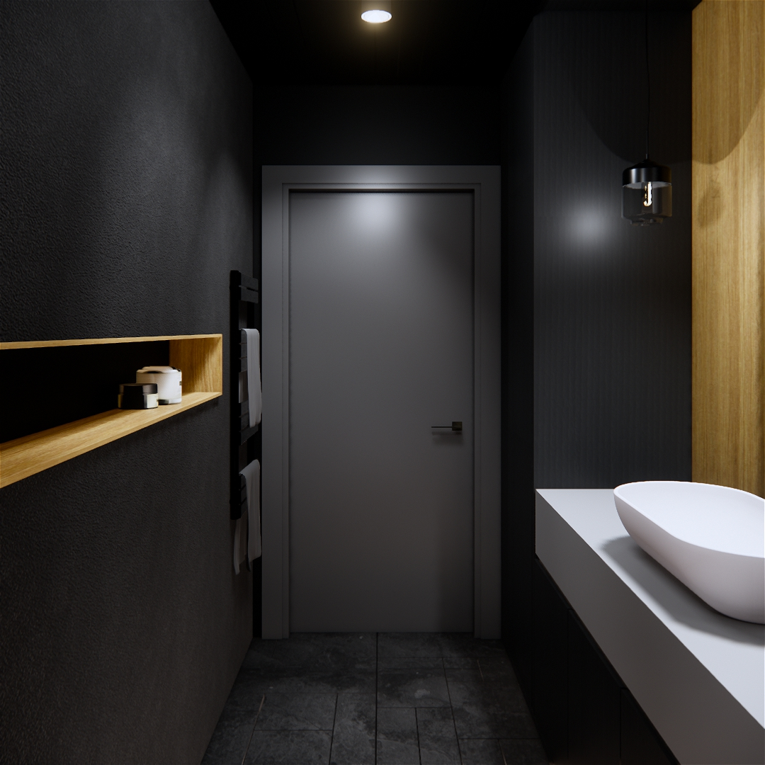 Dark bathroom designs 2019