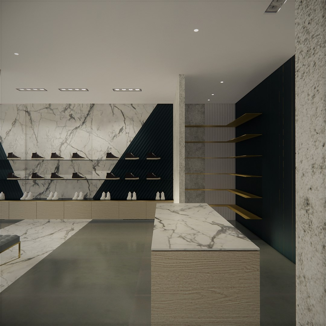 Michael ÓMara Store Design