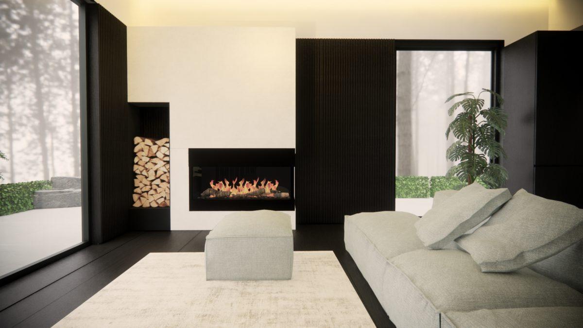 Monochrome interiors