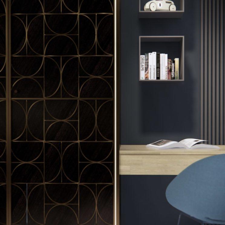 Luxury bedroom interior design