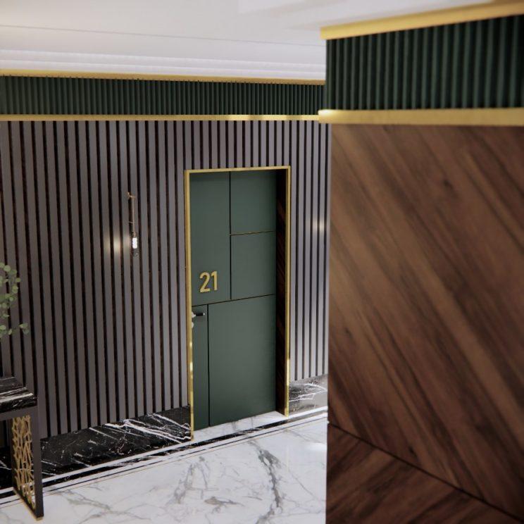 Landing hallway design